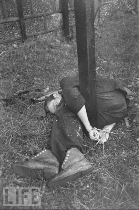 Nazi işbirlikçileri böyle infaz edildi