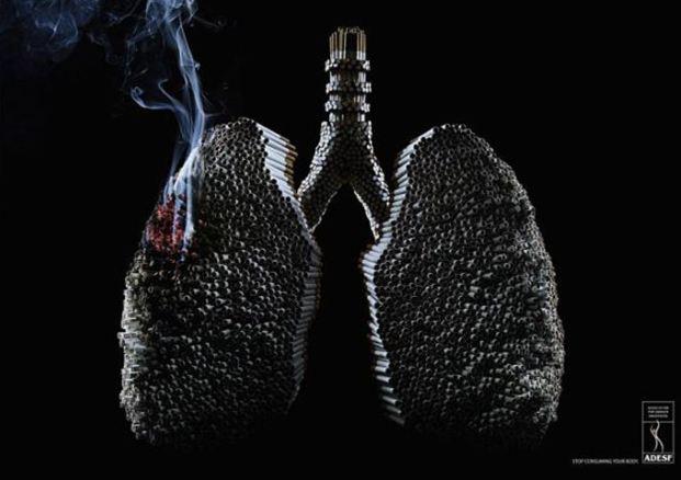 Sigaraya karşı gelen posterler