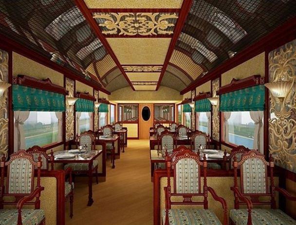 Hindistan'a giden lüks tren