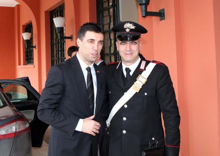 Hakan Şükür İtalya'da
