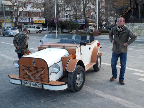 Yerli otomobili 25 sene önce yaptı