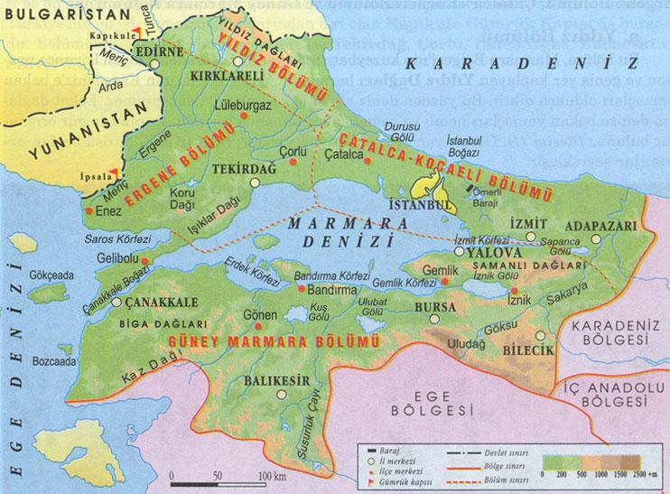 Türkiye'nin kanser haritası