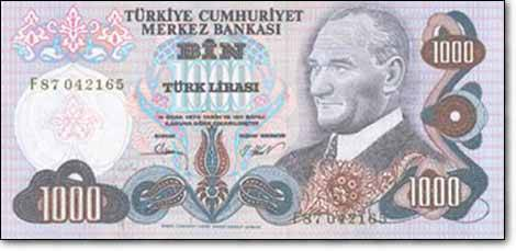Türk Lirası'nın tarihi