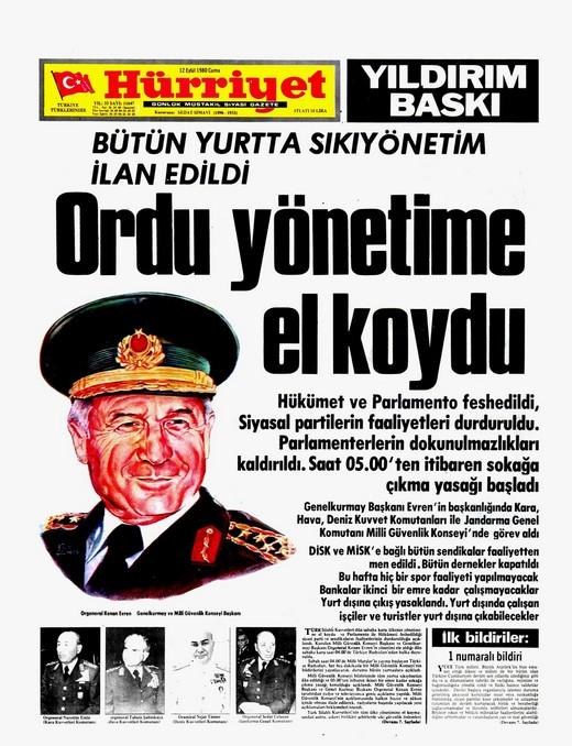 12 Eylül darbesi ve Türk medyası