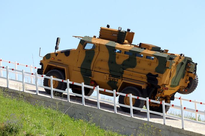 Mayına karşı korumalı zırhlı araç
