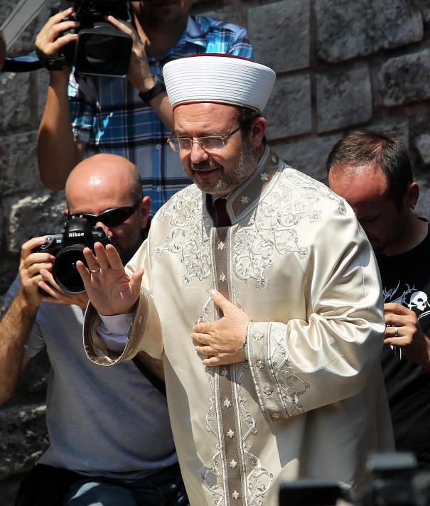 Mehmet Görmez - Patrikhane ziyareti