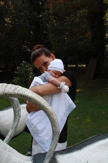 Esra Erol ve oğlu İdris Ali