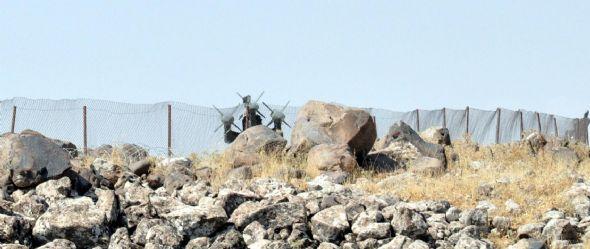 Sınıra füze rampaları yerleştirildi