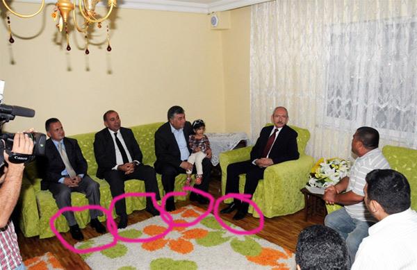 Kılıçdaroğlu'nun ayakkabı gafı