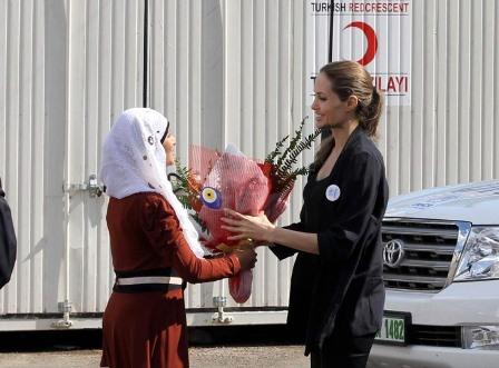 Angelina Jolie Türkiye ziyareti