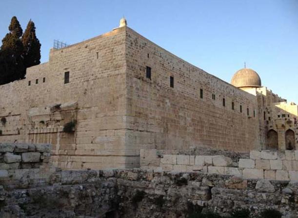 İsrail Mescidi Aksa'yı bu hale getirdi