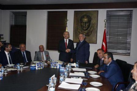 Aziz Yıldırım'ın Kılıçdaroğlu ziyareti