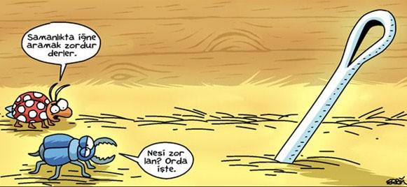 Kaleminden güldüren ve aynı zamanda düşündüren karikatürler