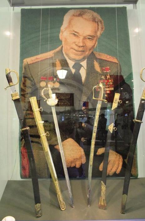 Kalaşnikof'un özel koleksiyonu