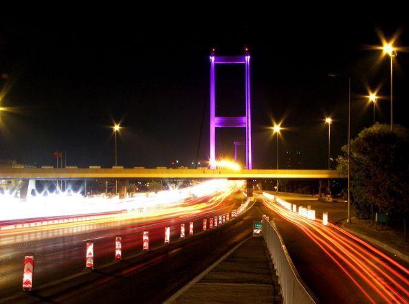 Boğaziçi Köprüsü'nün yapılışı