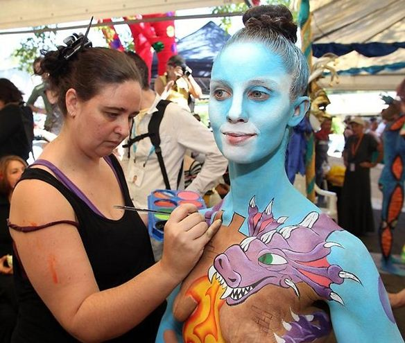 Vücut sanatı festivali