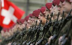 İsviçre ordusu savaşa hazırlanıyor