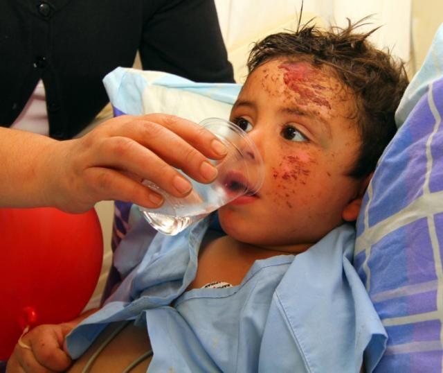 Esed'in vurduğu çocuklar