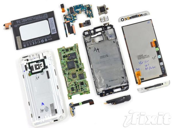 HTC One'ı tamir etmek bir kabus