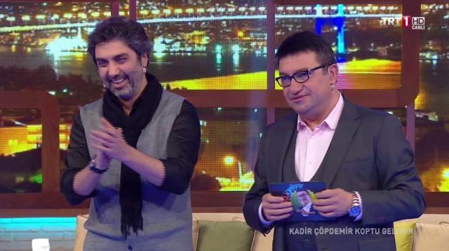 Necati Şaşmaz TRT 1'e konuk oldu