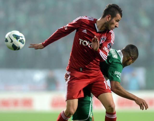 Beşiktaş Bursa'ya farklı yenildi