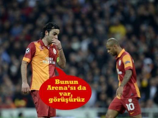 Galatasaray - Real Madrid maçının fotoromanı