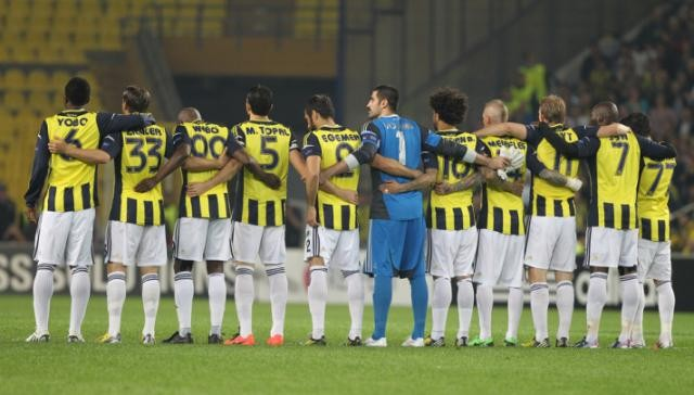 Fenerbahçe - Benfica maçının fotoğrafları...