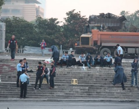 Gezi Parkı'nda bu sabah