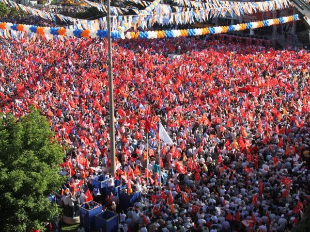 """Samsun'da """"Milli İradeye Saygı"""" mitingi"""
