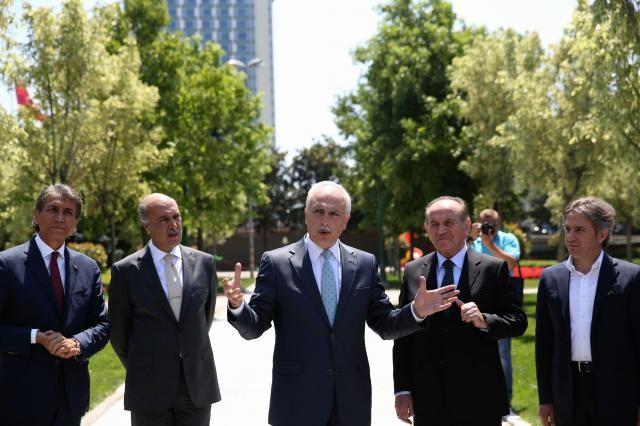 Taksim Gezi Parkı açıldı