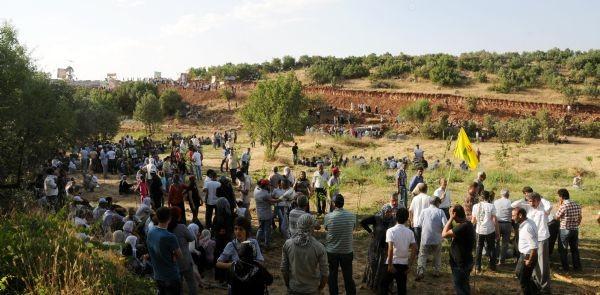 PKK şehitliği açıldı