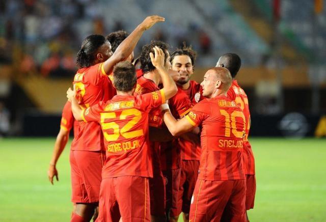 Galatasaray 3 - Malaga 3