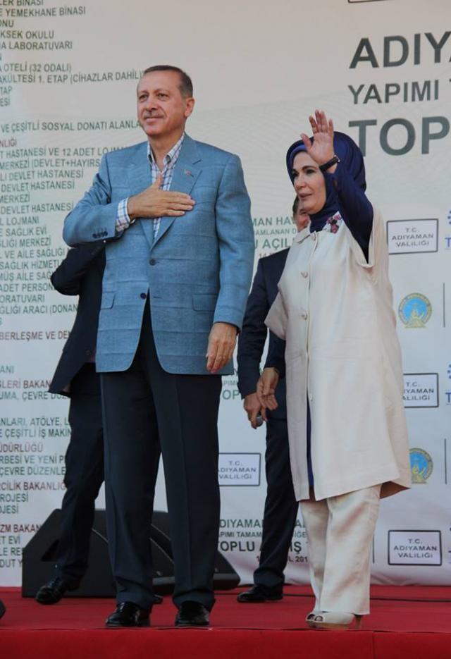 Recep Tayyip Erdoğan Adıyaman'da konuştu!