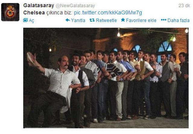Galatasaray - Chelsea eşleşmesi sosyal medyayı salladı!