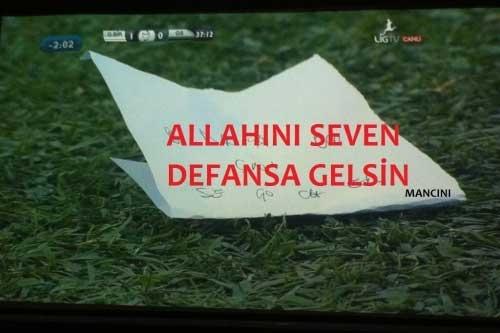 Galatasaray-Juventus maçı sonrası CAPS'ler