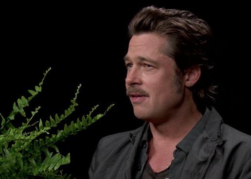 Brad Pitt'ten şok hareket
