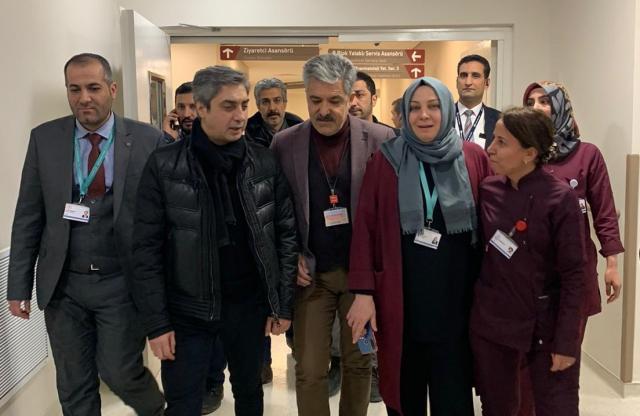 Necati Şaşmaz Elazığ'da