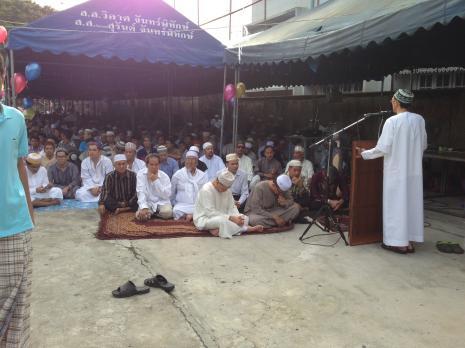Tayland da müslümanlar ramazan bayramı neşesi yaşıyor