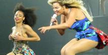 Beyonce'tan görsel şov