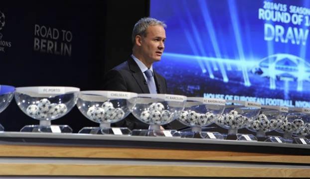 Şampiyonlar Ligi eşleşmeleri belli oldu!