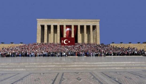 Anıtkabiri bu yıl 6 milyon kişi ziyaret etti