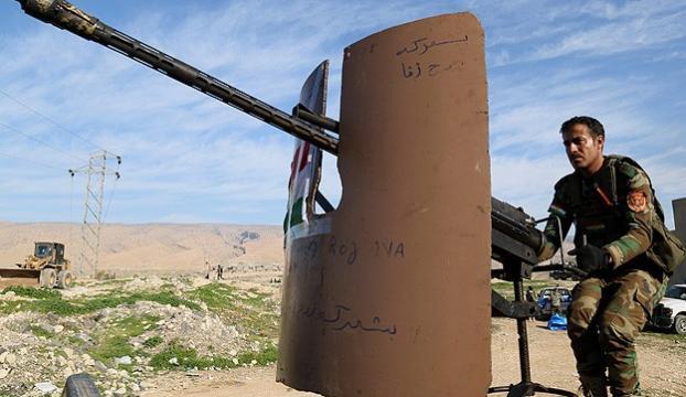 """""""Suriyeli Peşmergeler"""" Şengal cephesinde"""