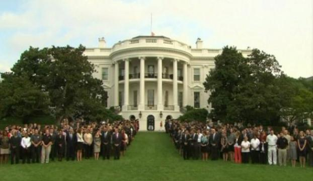 İdam kararlarına Beyaz Saray önünde protesto vardı