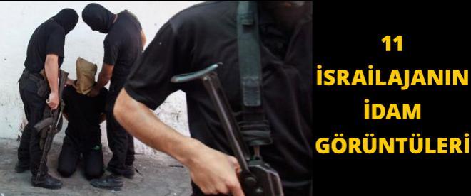 11 İsrail ajanının idam görüntüleri