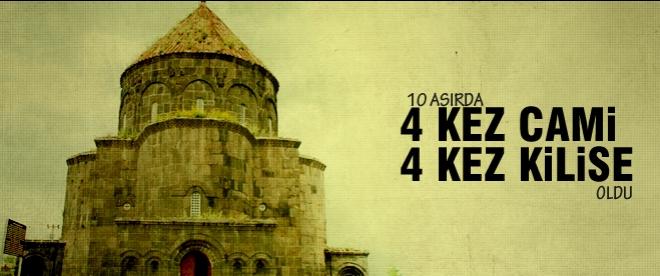 Bin yılda 4 kez cami 4 kez kilise oldu