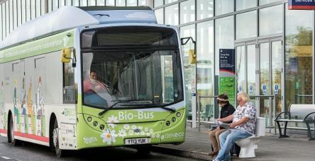 testİnsan dışkısı ile çalışan otobüs