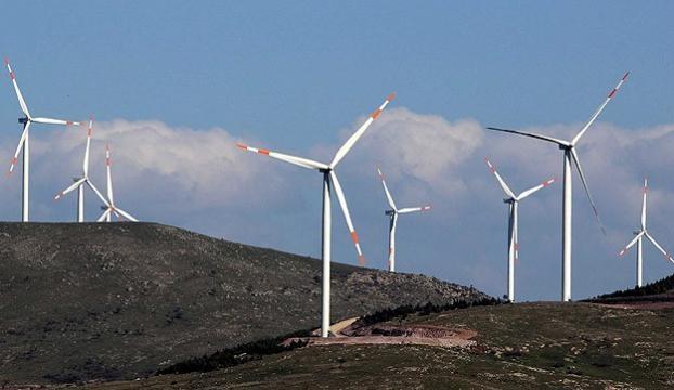 Rüzgar santrallerinde elektrik üretimi arttı