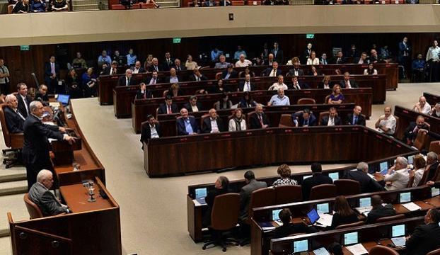 İsrailde parlamentonun feshi kabul edildi