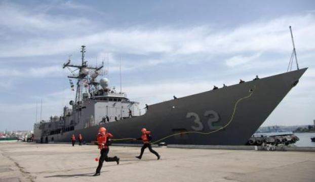 İran Devrim Muhafızları Hürmüz Boğazında ABD gemisinin geçişine izin vermedi
