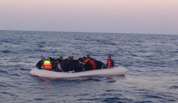 Ege Denizinde 56 göçmen yakalandı